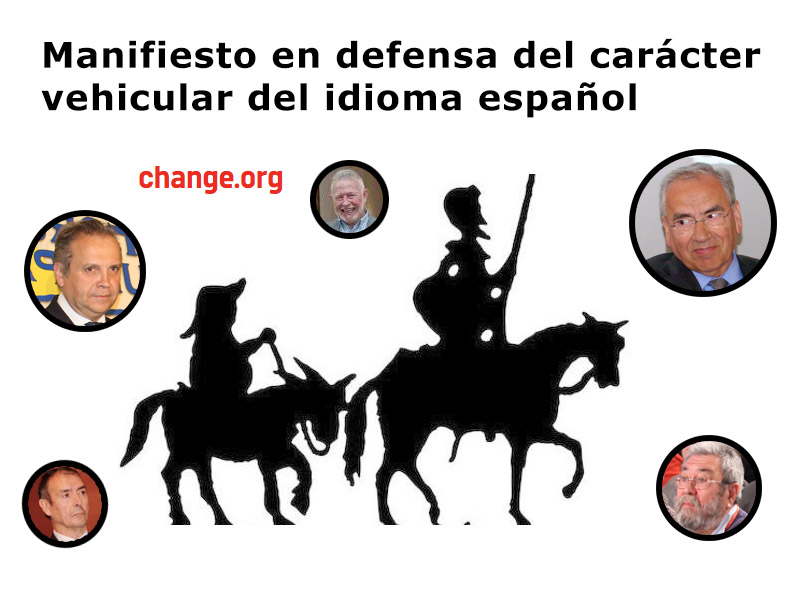 Critical socialists promote a petition in defense of Spanish language in Spain